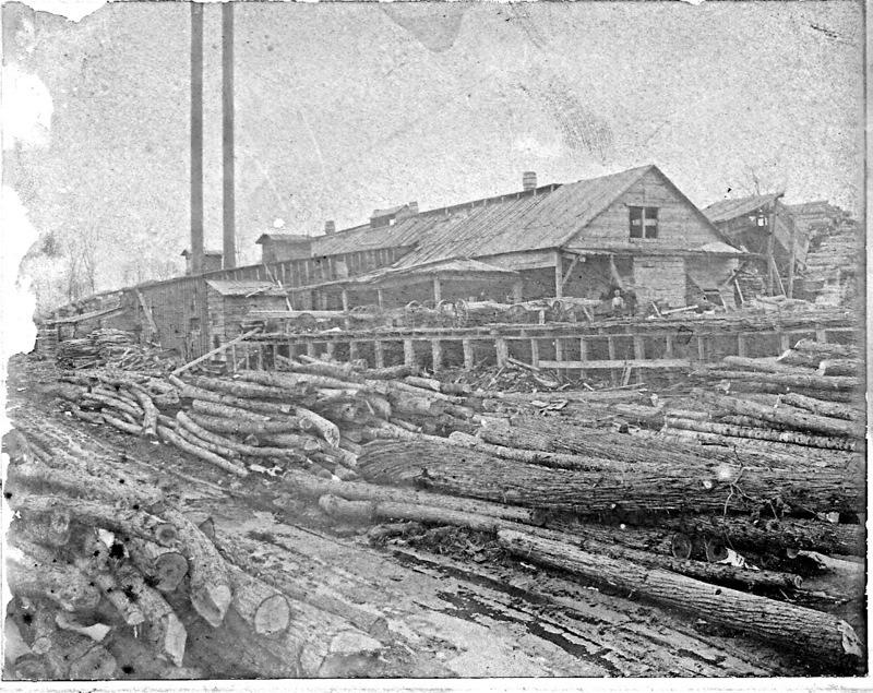 Shingle Mill in Bunyea