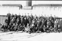 Group of Mill Workers