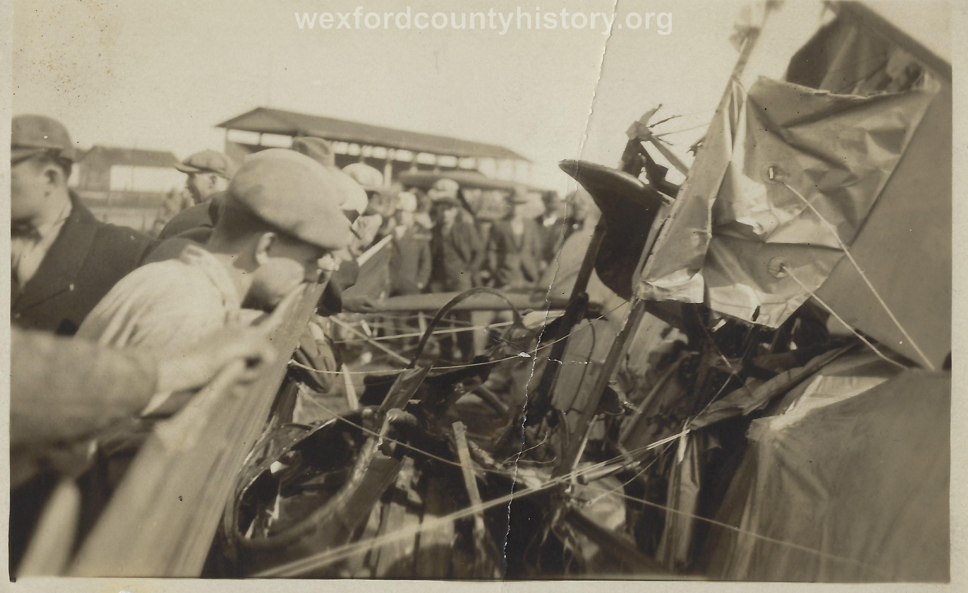 Cadillac-Misc-Airplane-Crash-At-The-Fairgrounds