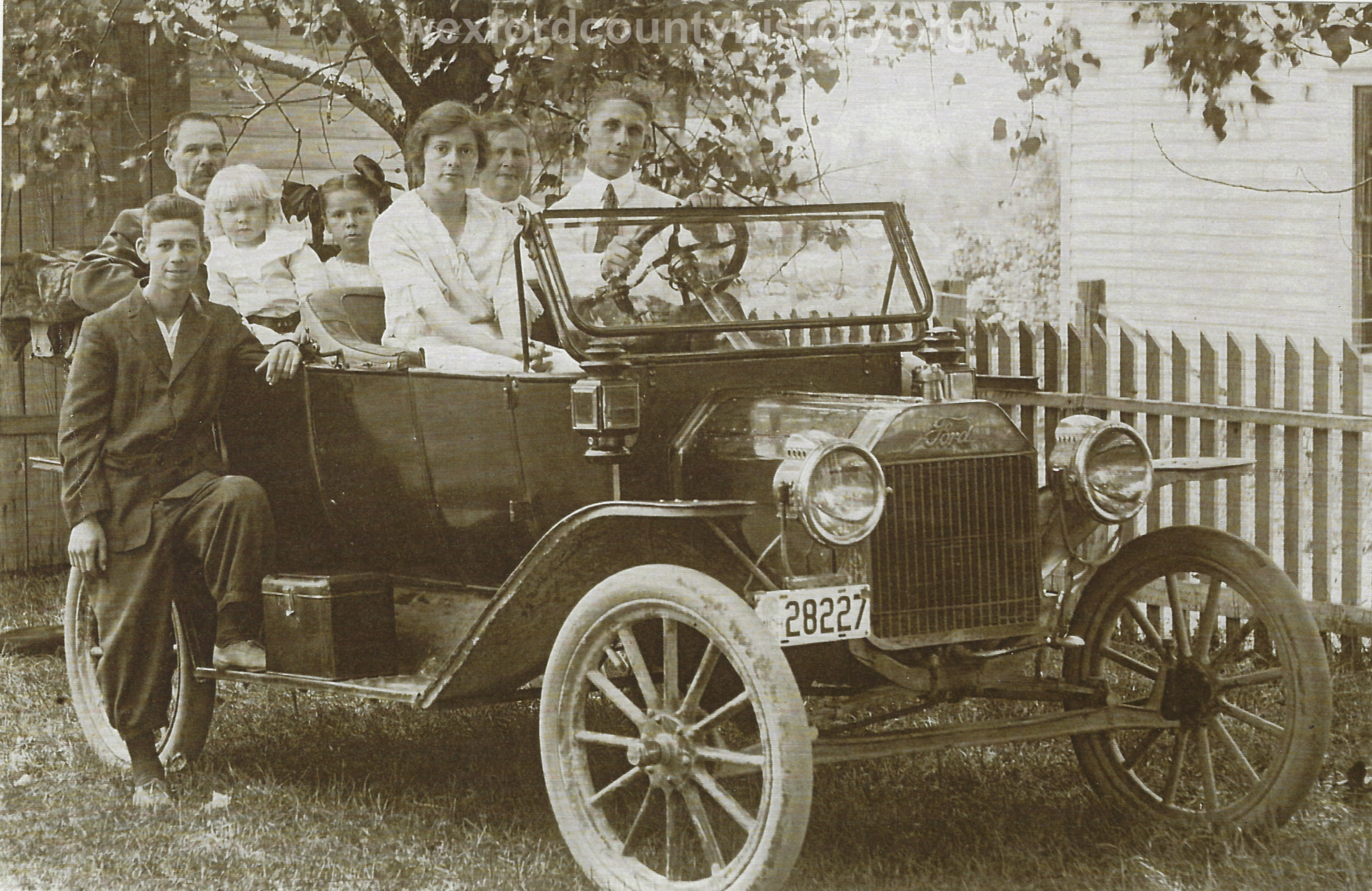Family In A Ford