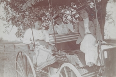 Three Ladies In A Carriage