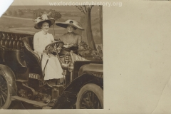 Two Ladies In A Car