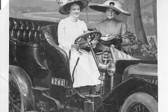 Ladies and an Early Car