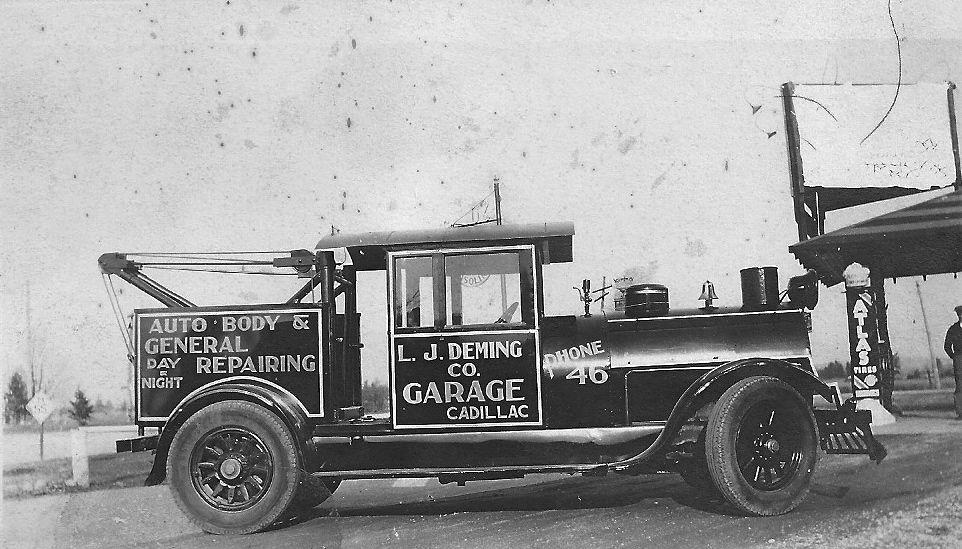 Deming Garage Truck