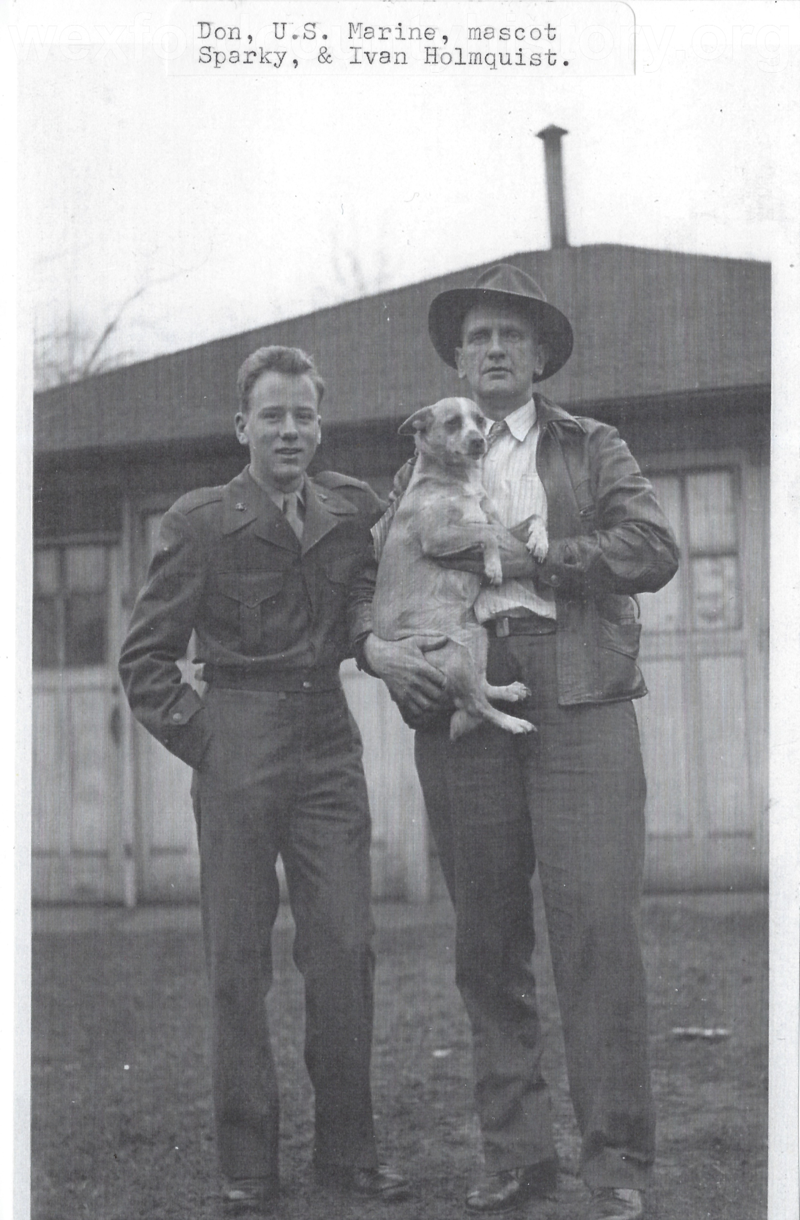 Don And Ivan Holmquist, with Sparky