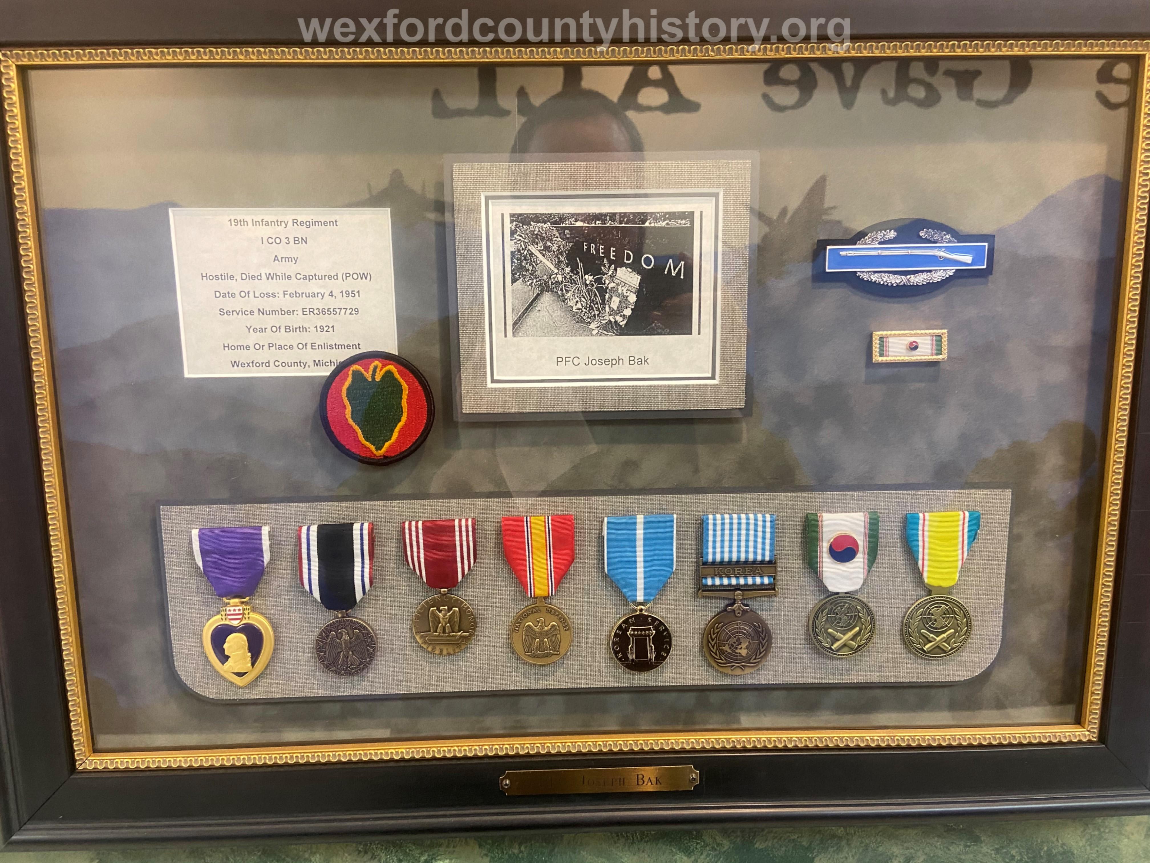 Court House Veterans -Joseph Bak
