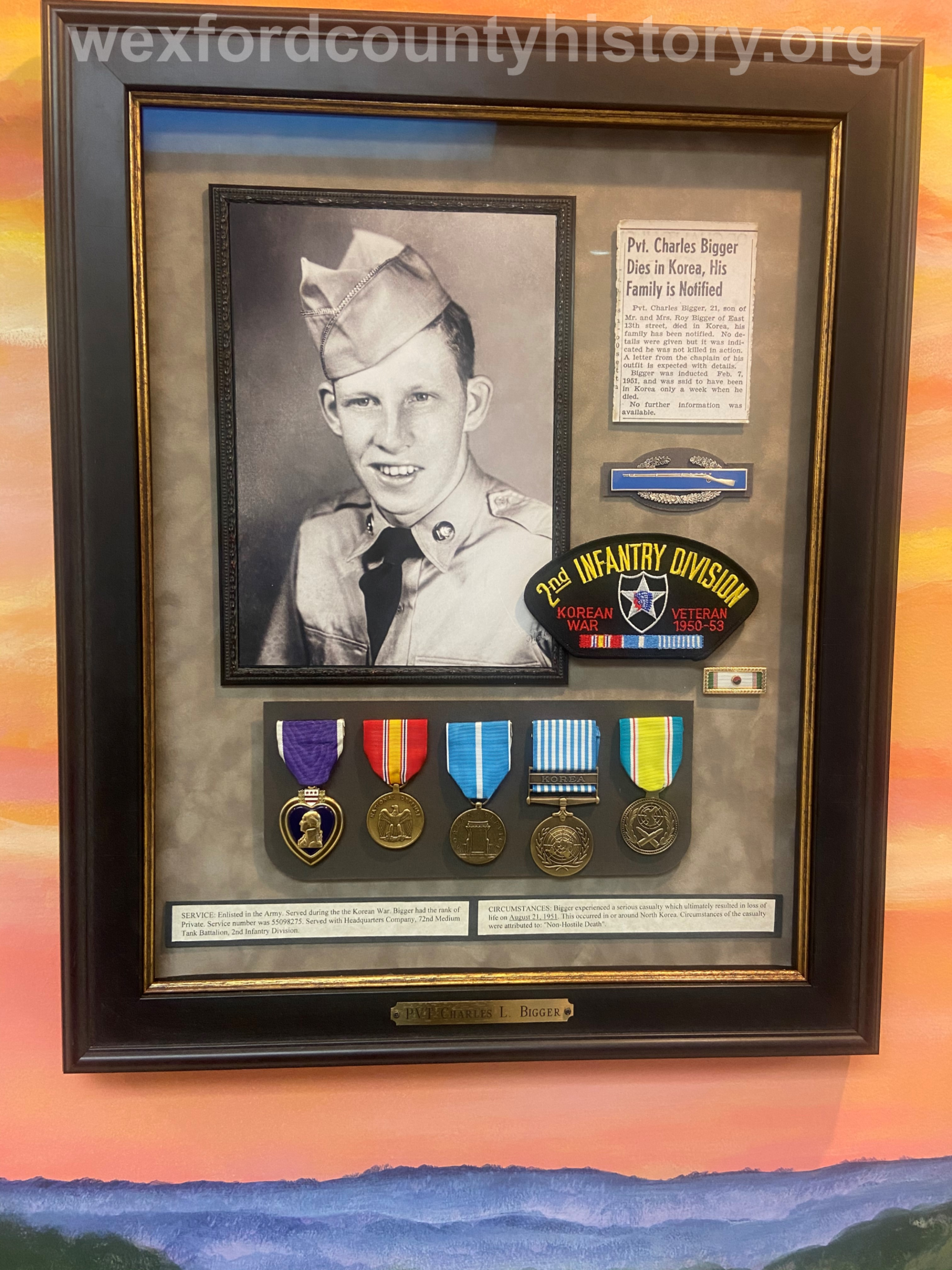Court House Veterans - Charles Bigger