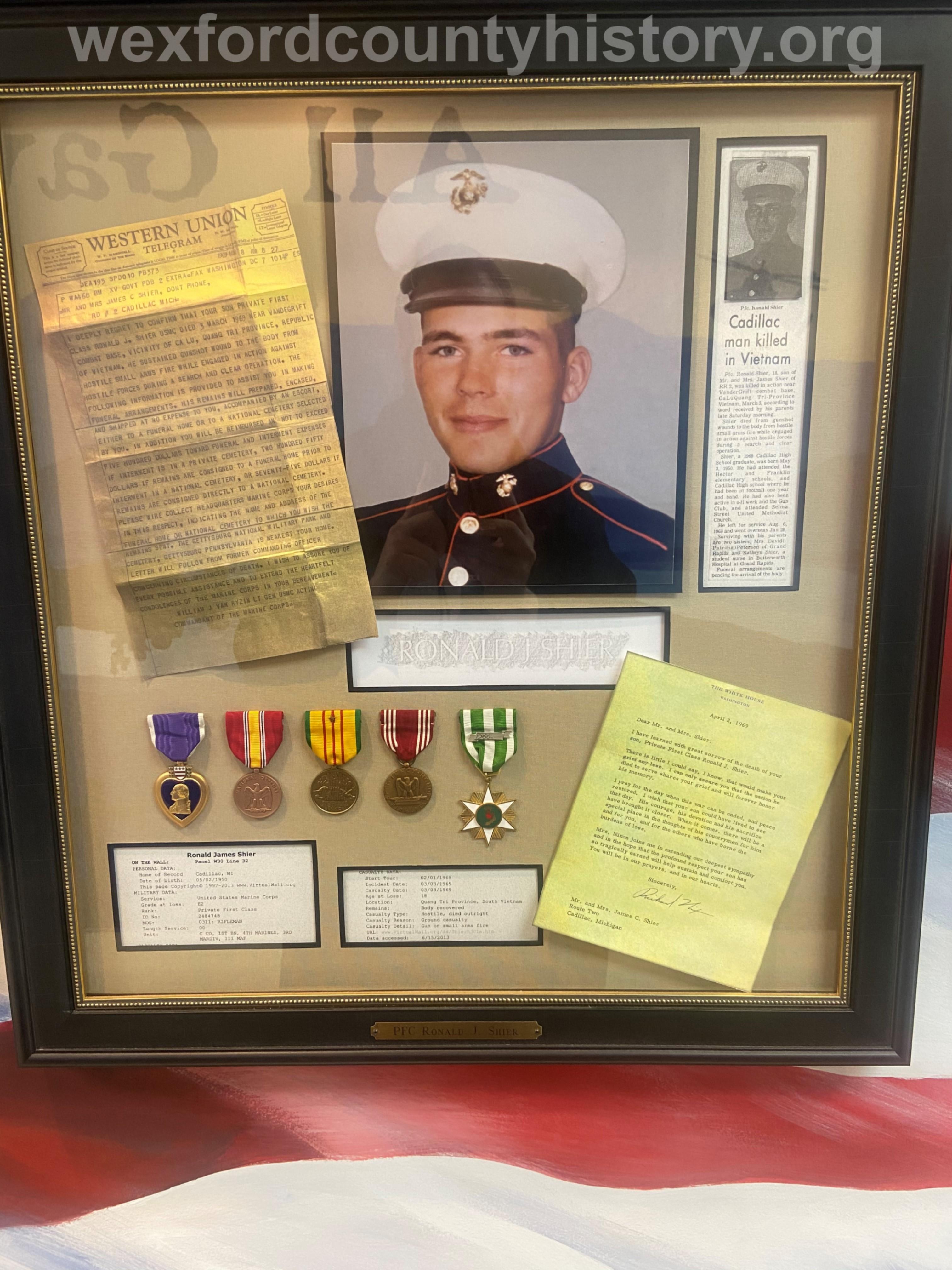 Court House Veterans - Ronald Shier