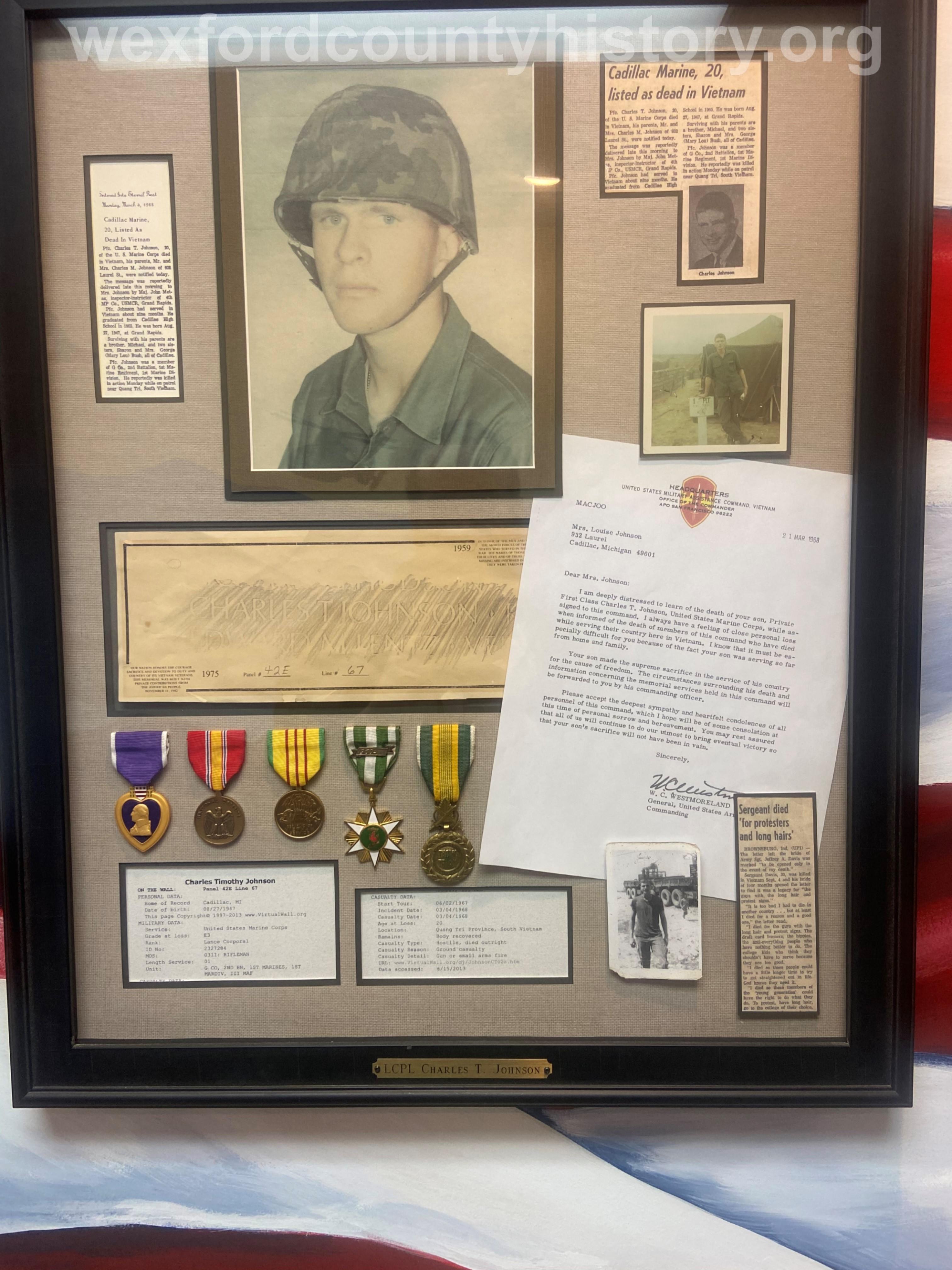 Court House Veterans - Charles Johnson