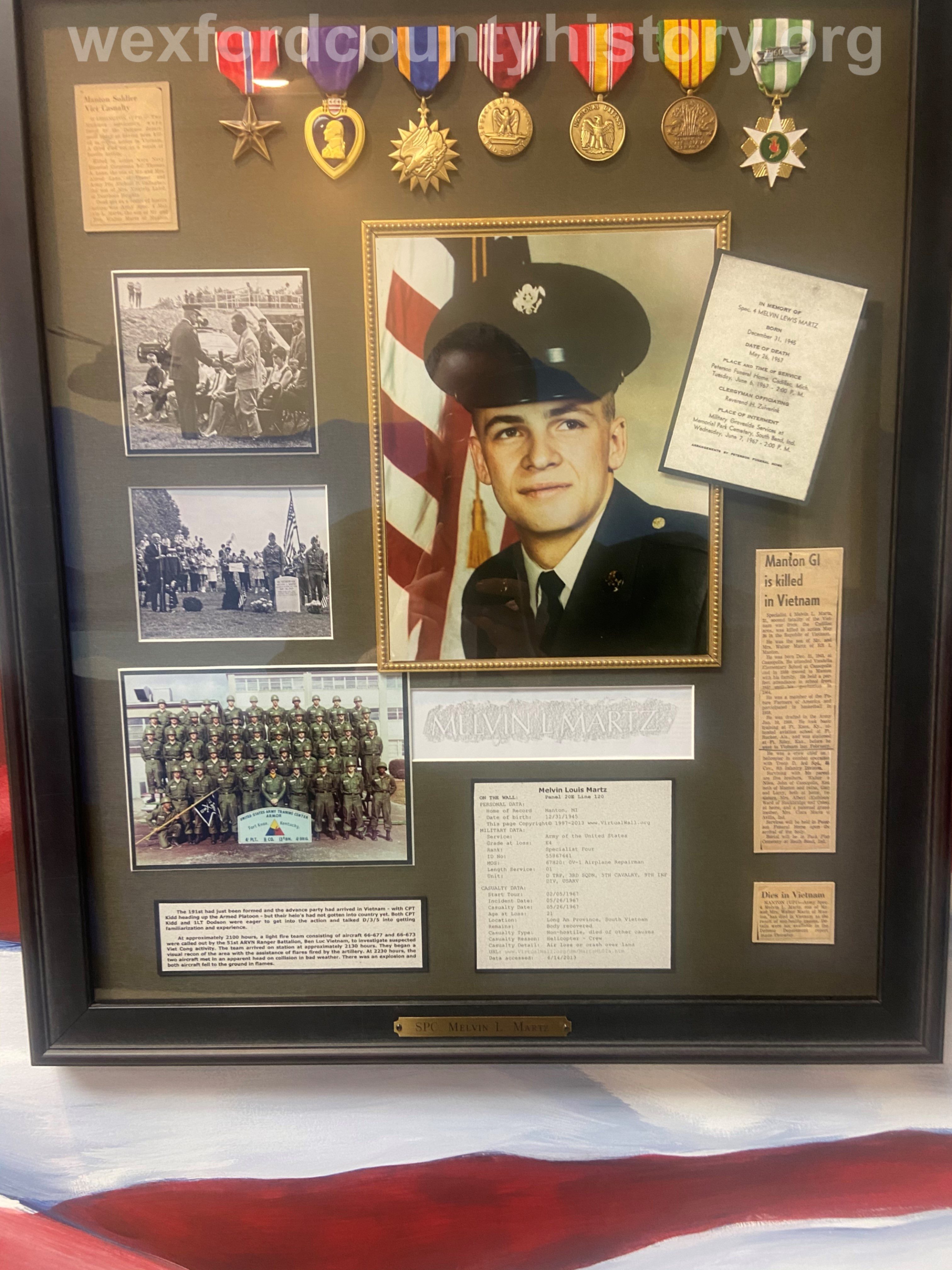 Court House Veterans - Melvin Martz