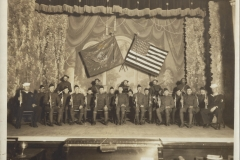 American Legion Drum And Bugle Corps On The Lyric Theater Stage