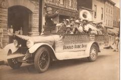 American Legion's Famous Rube Band