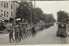 World War I Veterans On Parade
