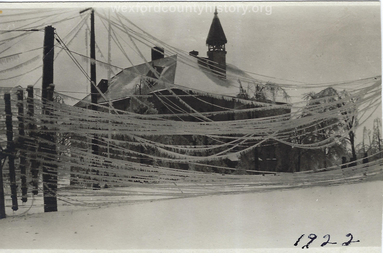 1922 Ice Storm - School