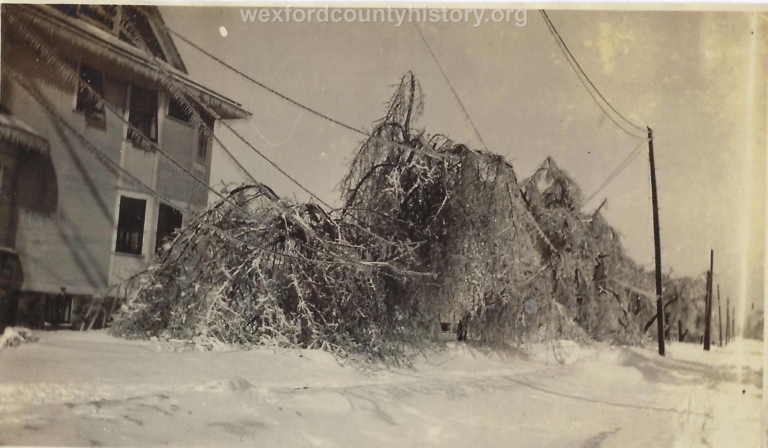 1922 Ice Storm - House