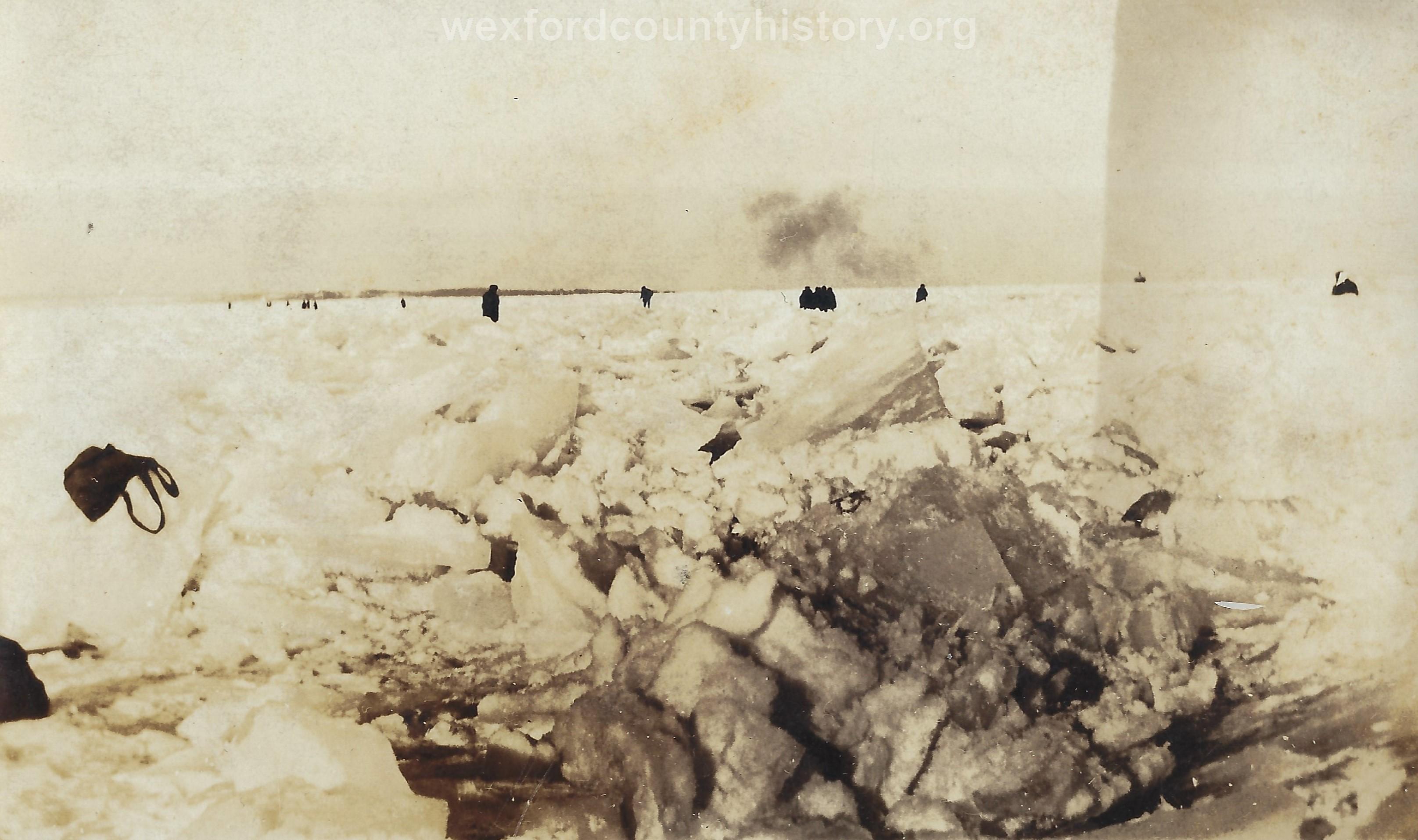 1922 Ice Storm - Lake Cadillac