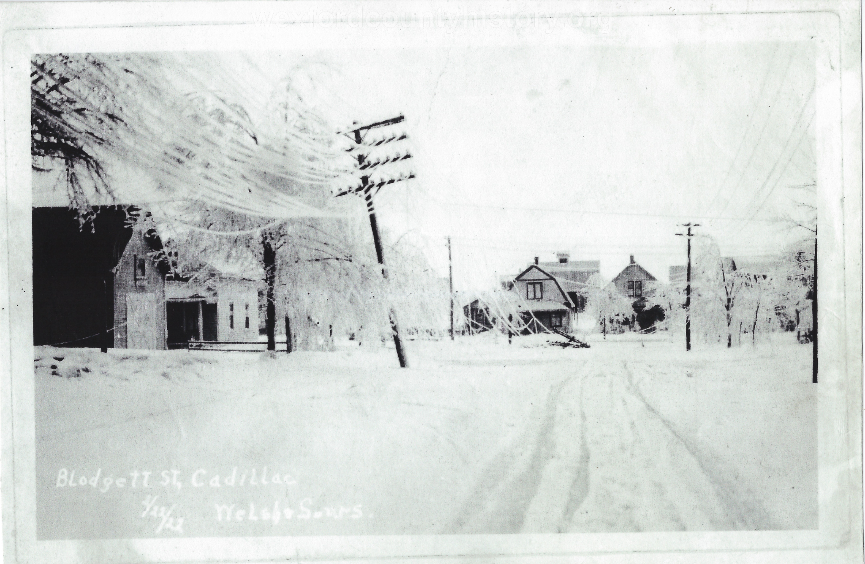 1922 Ice Storm - Blodgett Street