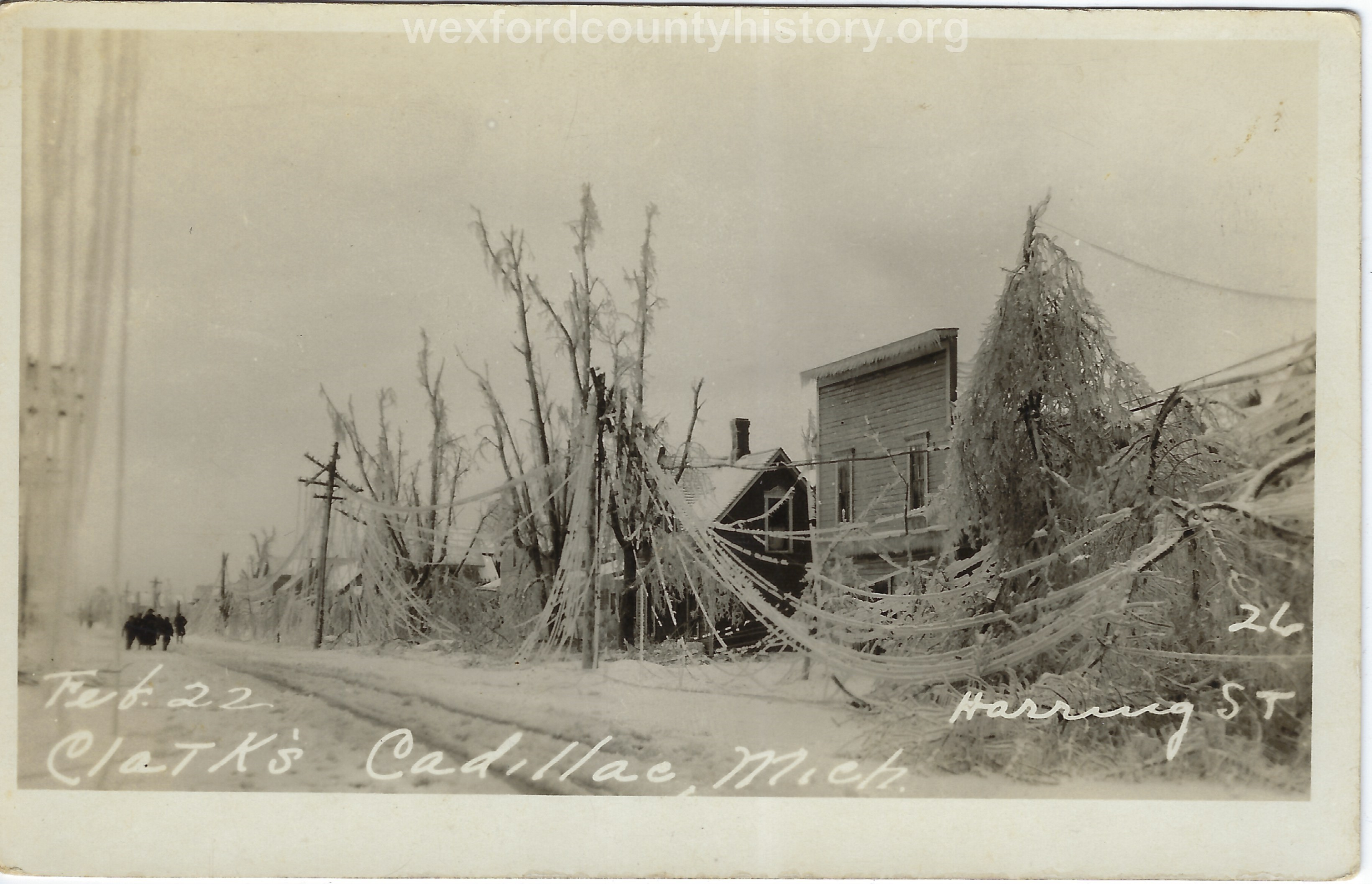 1922 Ice Storm - Haring Street