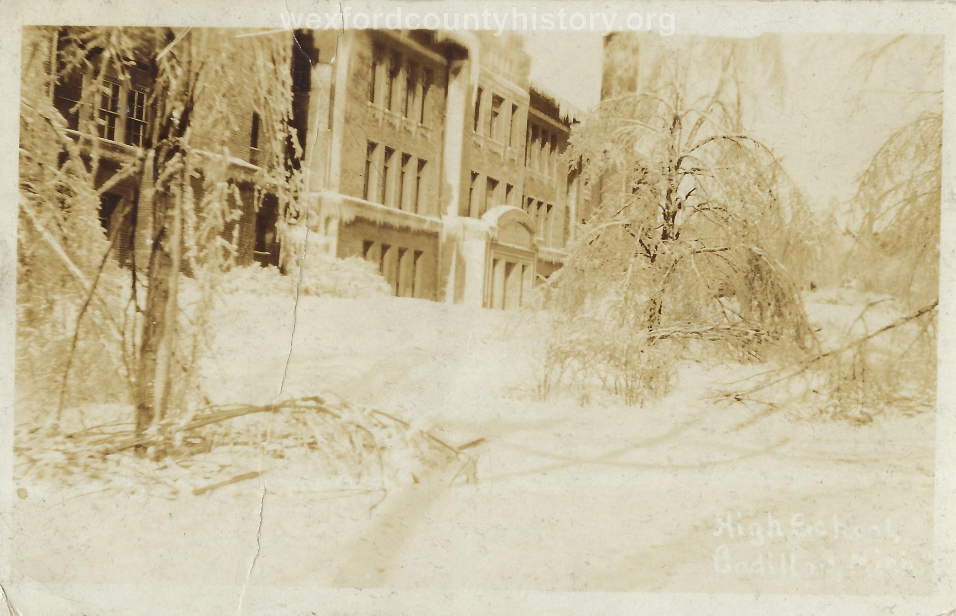 1922 Ice Storm - Old High School