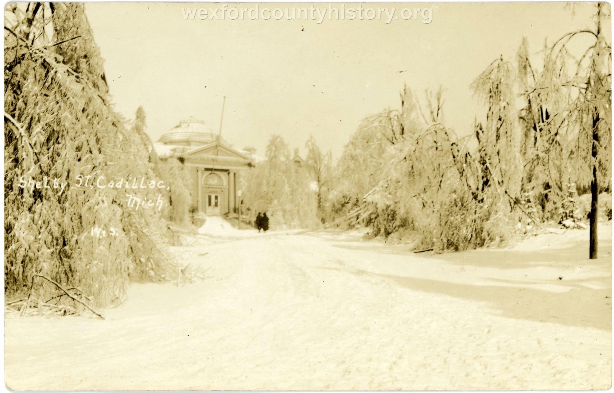 1922 Ice Storm - Shelby Street