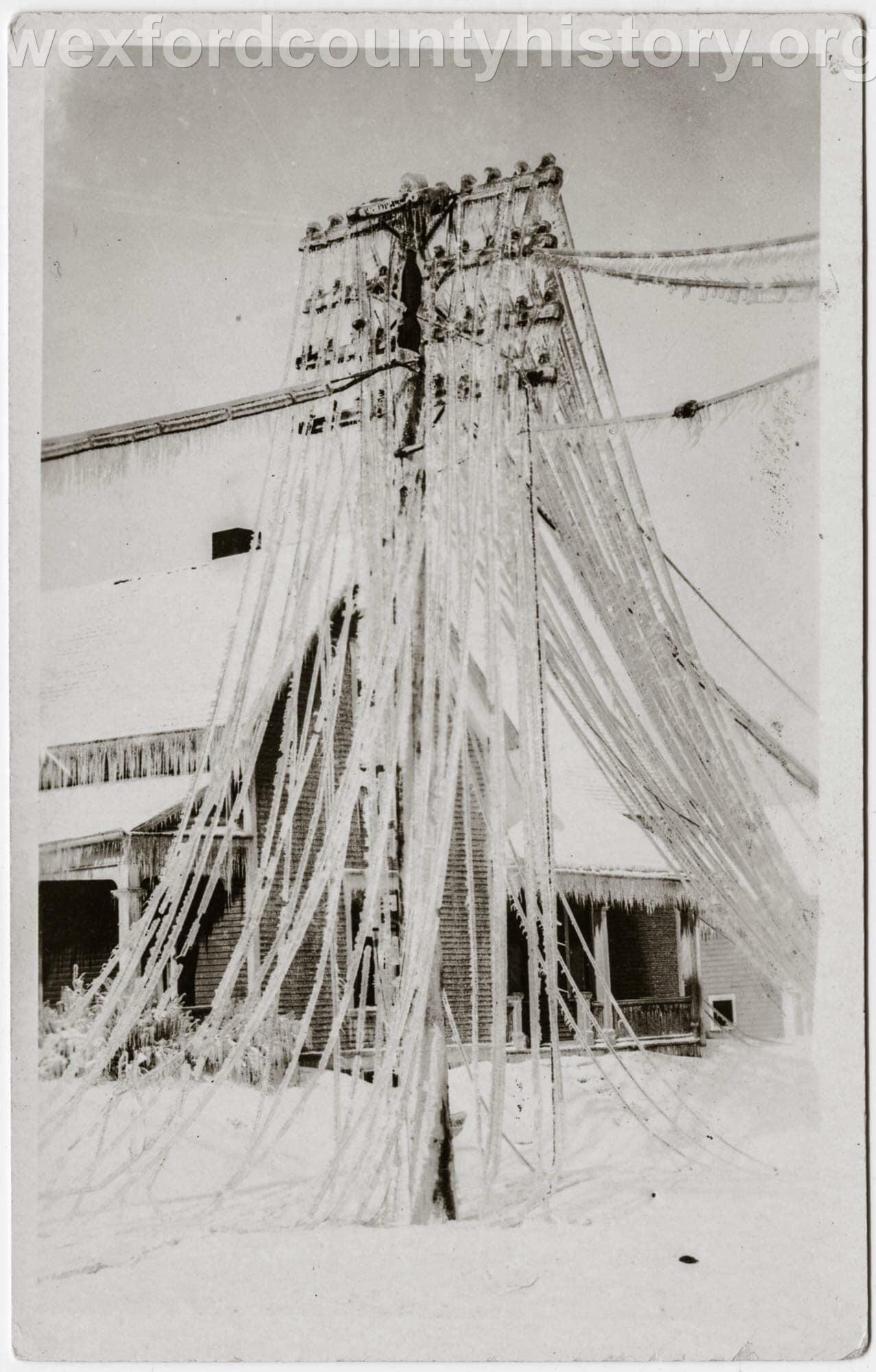 1922 Ice Storm - Prospect Street
