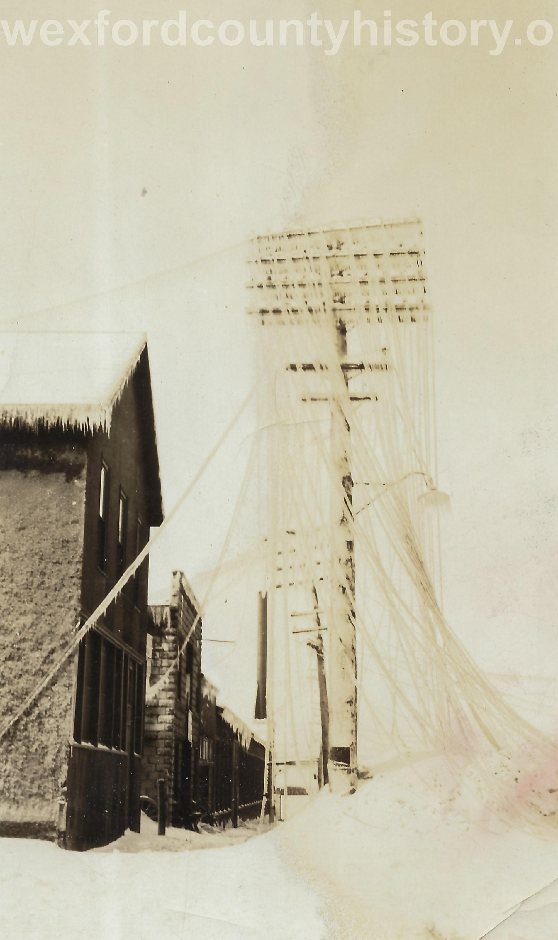1922 Ice Storm - Power Wires