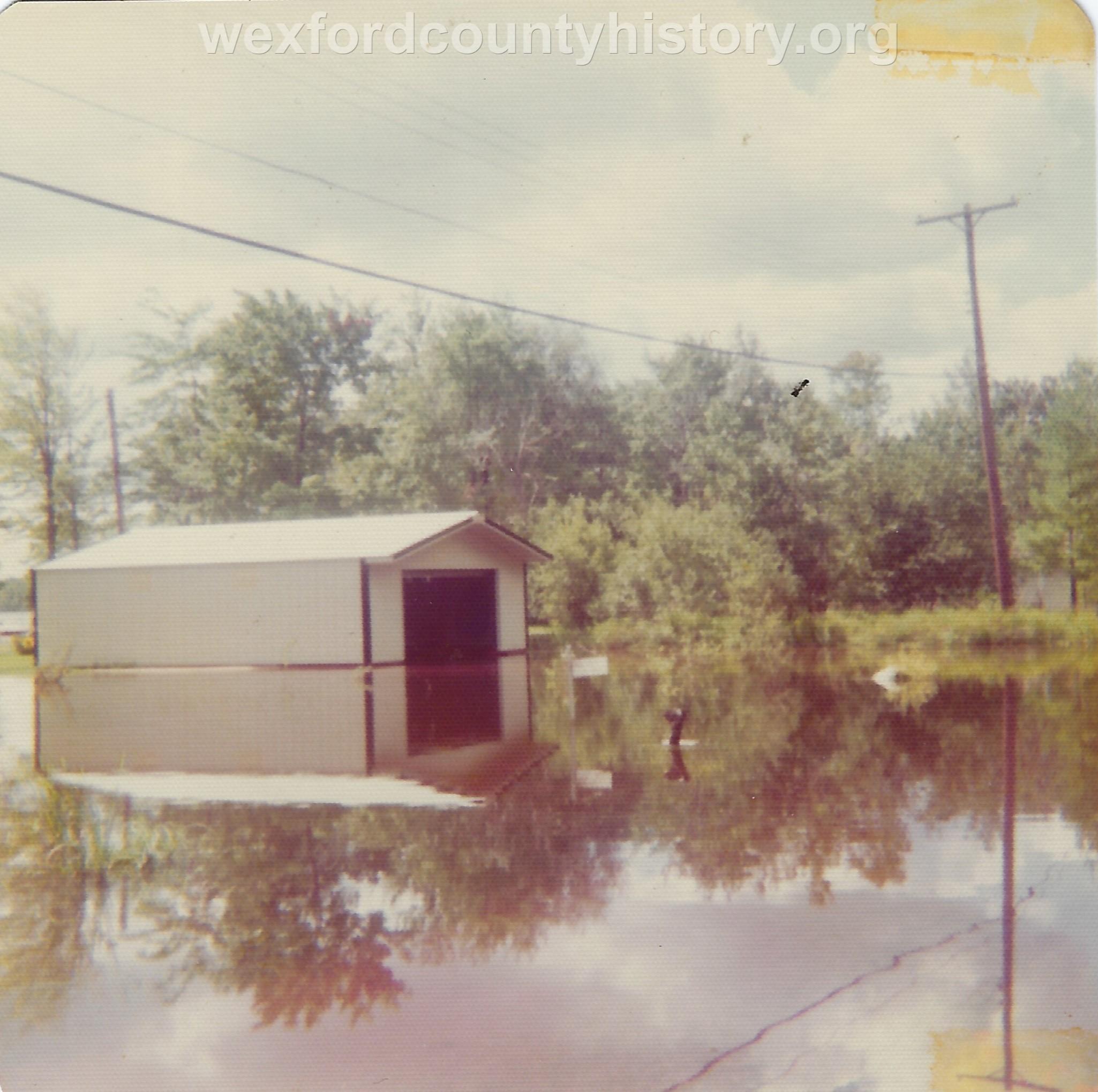 Cadillac-Weather-Flooded-Garage