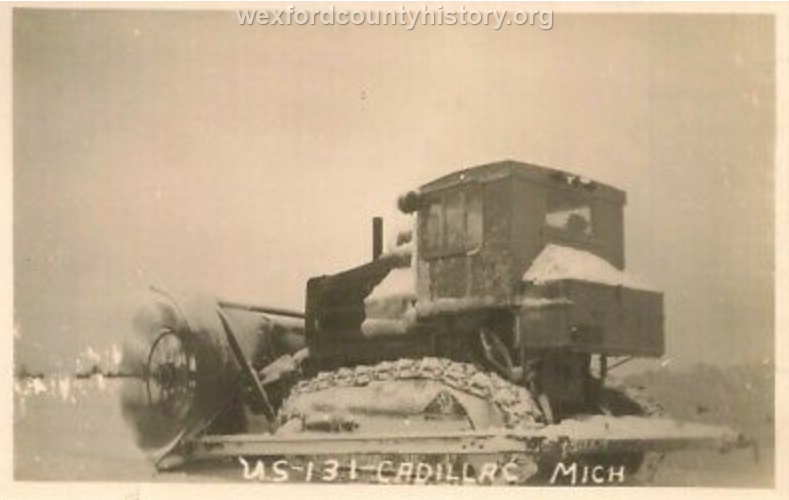 Cadillac-Weather-Plow-on-US-131