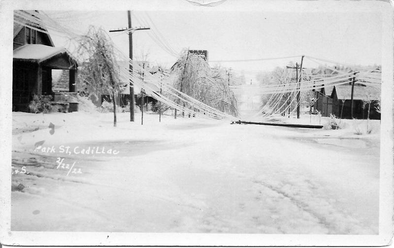 1922 Ice Storm - Park Street