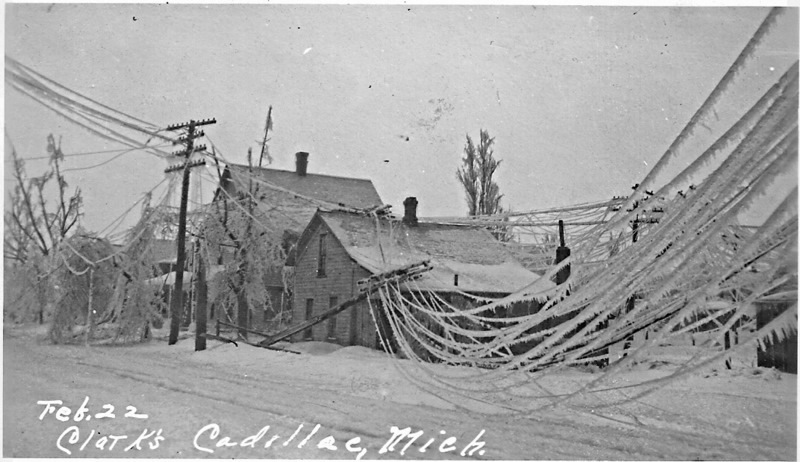 1922 - Ice Storm of 1922