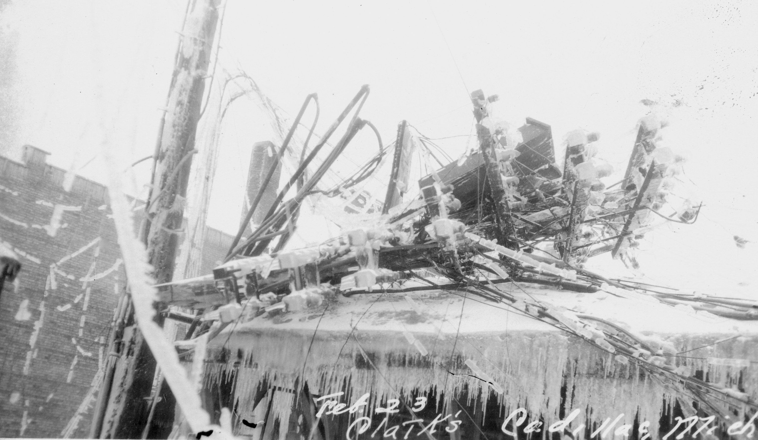1922 - Ice Storm, Downtown Area
