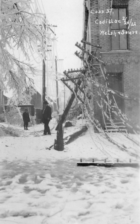 1922 Ice Storm - Cass Street