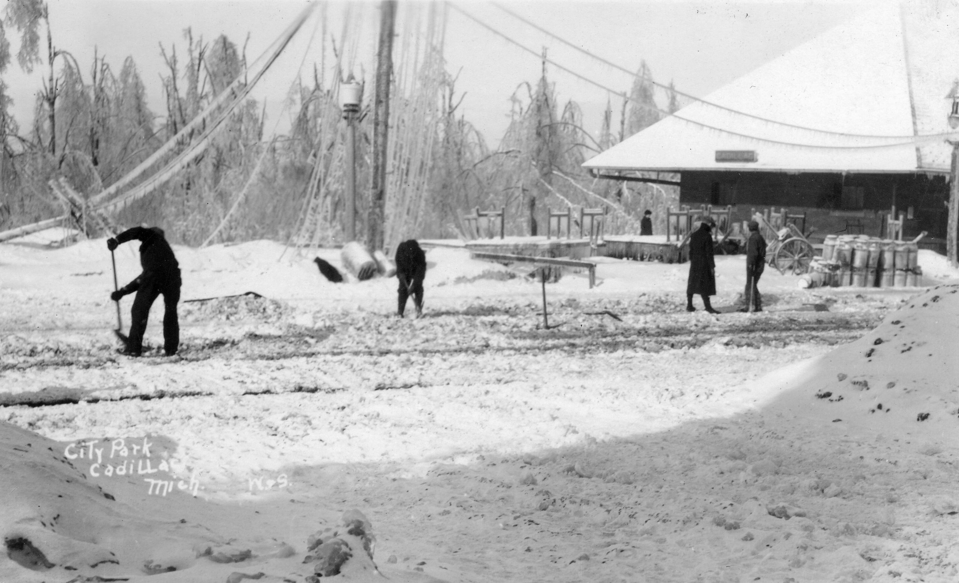 1922 Ice Storm - Penn Station Depot