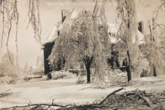 1922 Ice Storm - Delos Diggins House