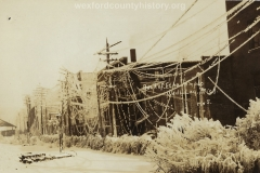 1922 Ice Storm - Back of Elks