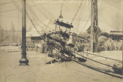1922 Ice Storm - Cass Street Near The Depot