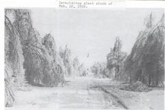 1922 Ice Storm - Chapin Street