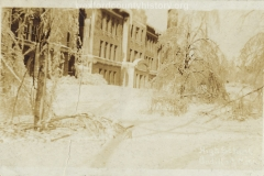 1922 Ice Storm - Old High School