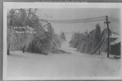 1922 Ice Storm - Power Wires