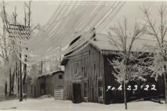 1922 Ice Storm - A Home And Barn