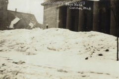 Cadillac-Weather-Snow-Scene-In-Front-Of-Post-Office