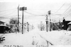 1922 Ice Storm - North Street