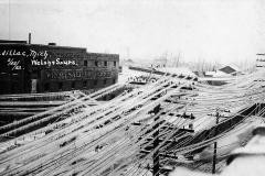 1922 Ice Storm - Harris Street