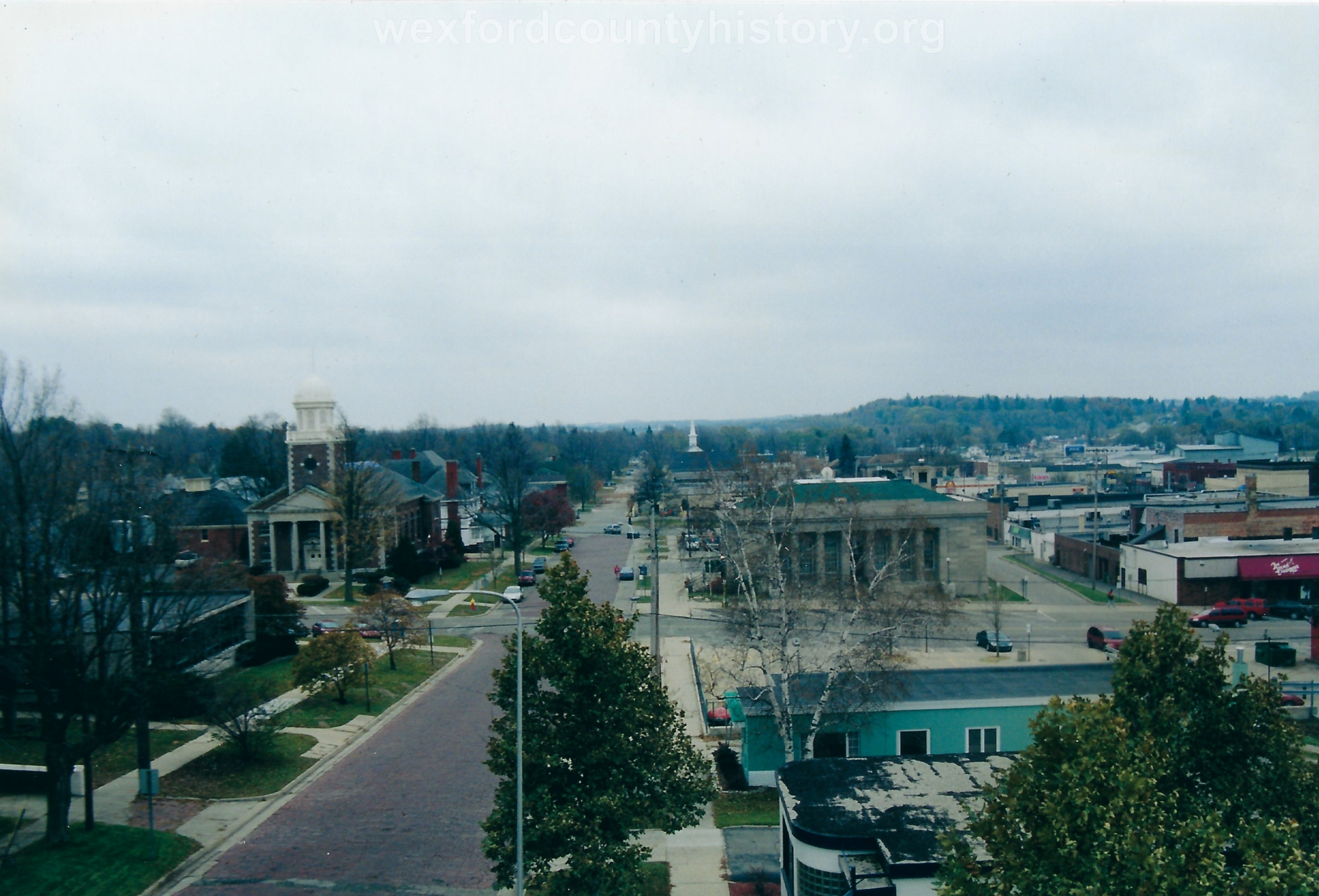 View from the roof of the Historical Society.