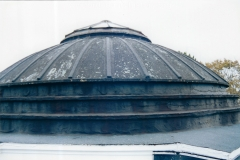 The dome area prior to restoration; thanks to donations from the community.