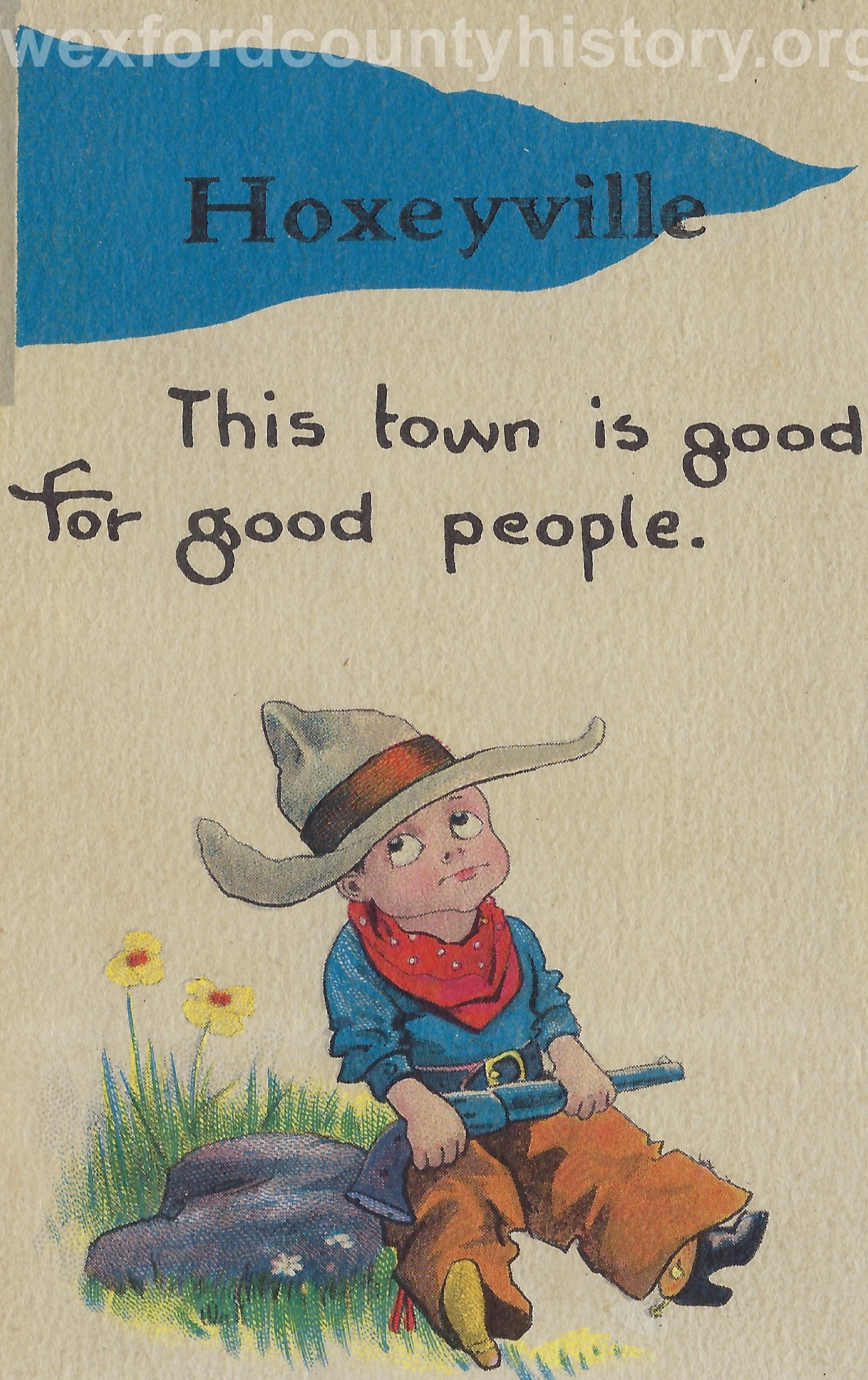 Hoxeyville-Random-Postcard