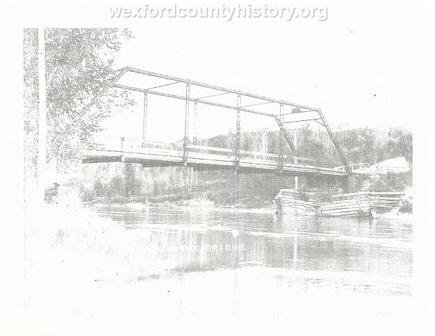 Wexford-County-Structure-Manistee-River-Bridge-north-of-Manton-Michigan
