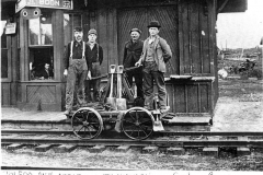 Boon Railroad Section Crew