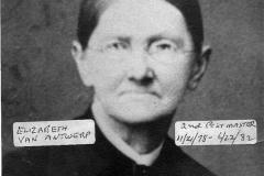 Hoxeyville, Elizabeth Van Antwerp
