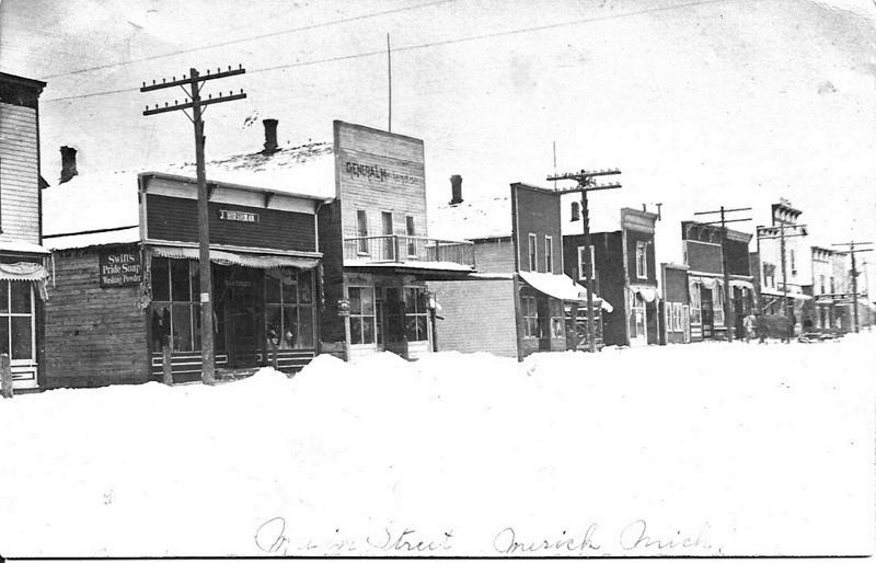 Mesick Main Street